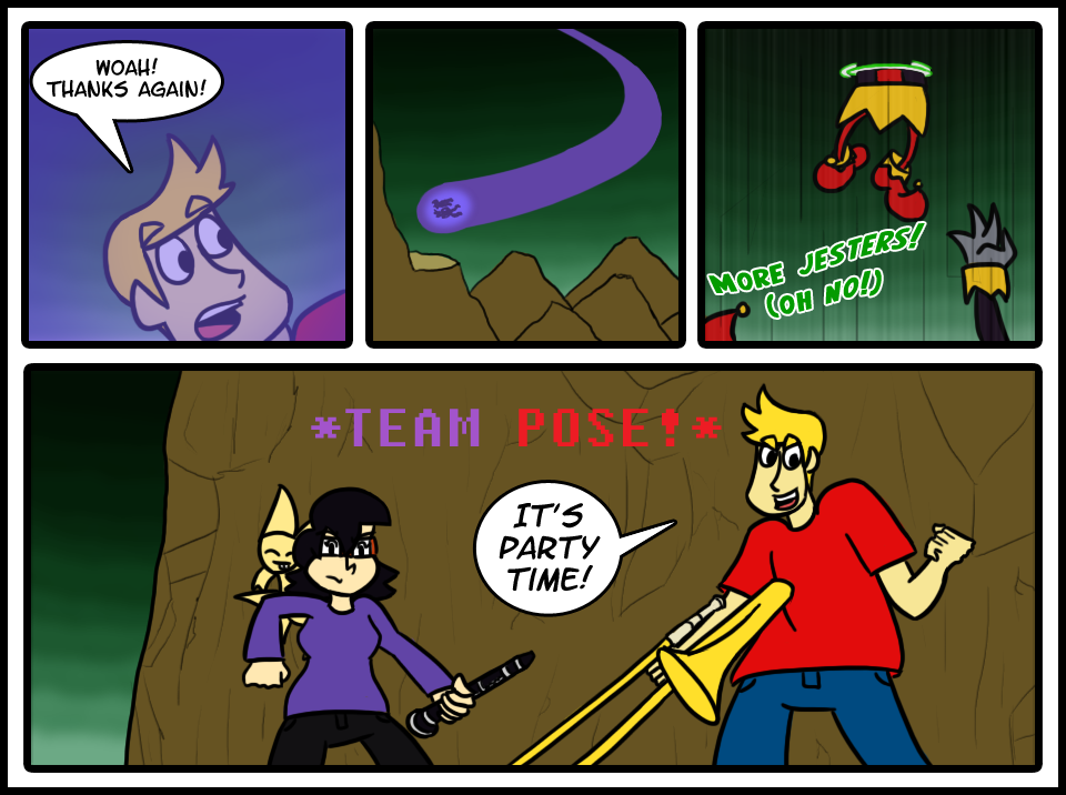 Page 60: Pose As A Team