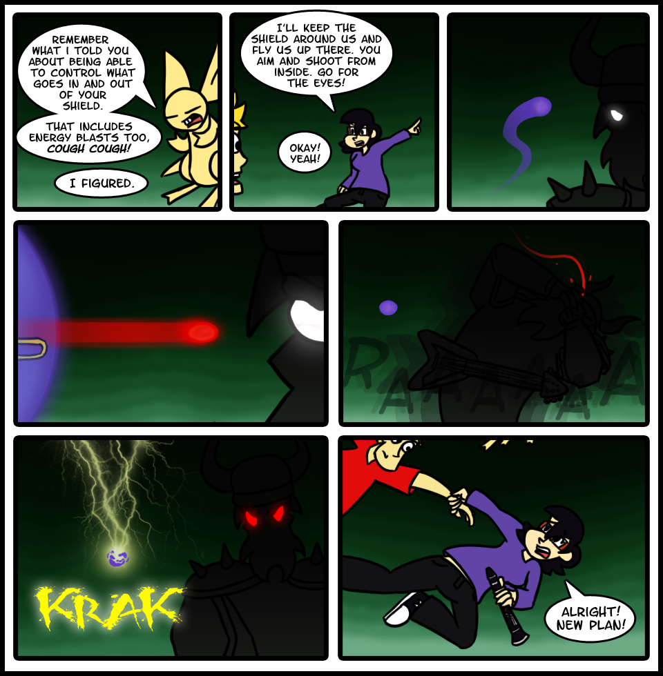Page 65: Commence Boss Battle