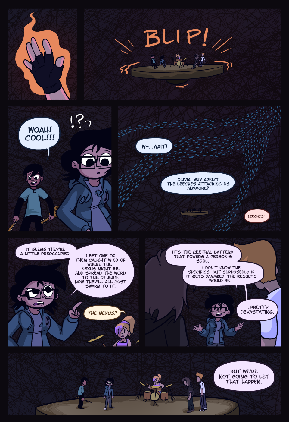 Page 389: Safe For Now